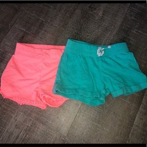 Lot of two girls jumping beans shorts size 5